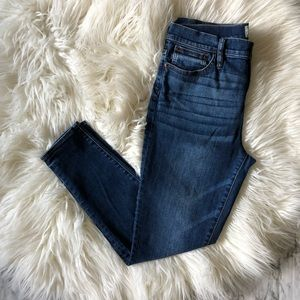 """J. Crew 9"""" high-rise toothpick ankle jeans"""